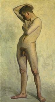 nude male by eugene fredrik jansson