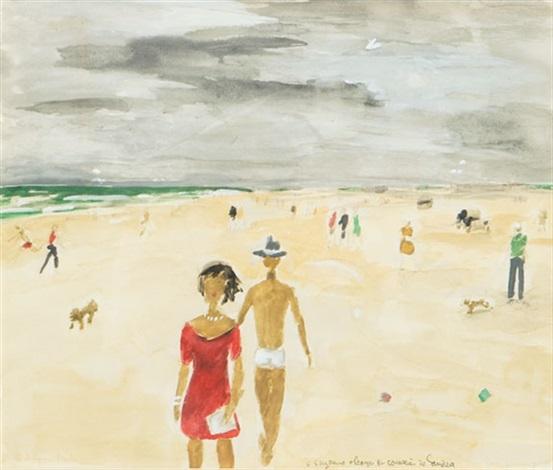 New Smyrna Beach By Jean Paul Lemieux