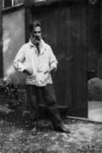portrait de brancusi devant son atelier by katherine sophie dreier