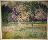 le verger en fleurs by victor charreton