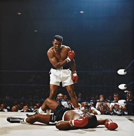 muhammad ali vs sonny liston st dominicks arena lewiston maine may 25 by neil leifer