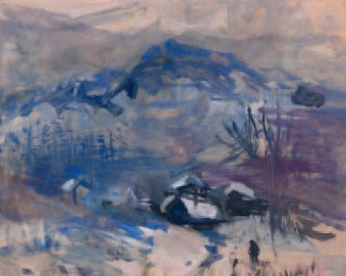paesaggio con la neve by riccardo chicco