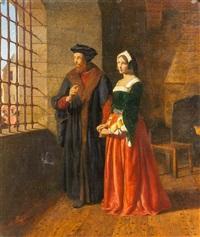 thomas moore and his daughter by john rogers herbert
