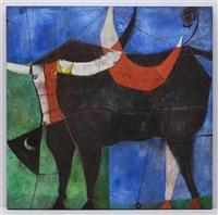 el toro y su luna by arturo morín