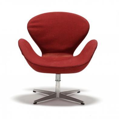 vintage swan chair by arne jacobsen on artnet