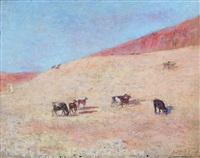retour du troupeau by louis-ferdinand antoni