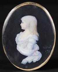madame royale, fille de louis xvi et de marie antoinette by françois hippolyte desbuisson dit hipolite