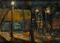 ночной бульвар by yuri vasiliev-mon