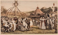 maypole scene by robert walker macbeth