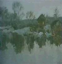 au bord de l'eau by nles izbas yablokov