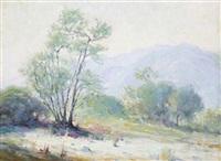spring landscape by victor clyde forsythe