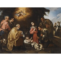 adoration of the shepherds by spanish school-cordobesa (17)