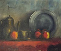 nature morte by haralambos potamianos