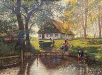 summer in sørup by julius christian rehder