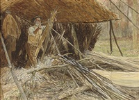 making wooden hoops by william henry charles groome