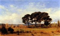 les pins à st. raphaël by victor de papelen (papeleu)