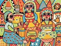 les cuisinières by fatna gbouri