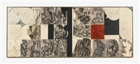 past continuous (in 3 parts) by lee krasner