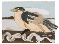 untitled (bird) by mary fedden