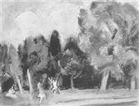 dans le parc de st. cloud by lilly steiner