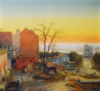 the visitor - new york by fritz kreidt