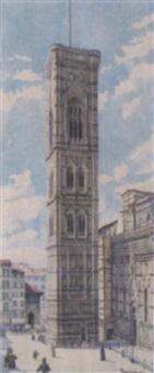 florenz, campanile di duomo by s. leoncini