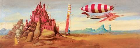 dreamy landscape by christos antonaropoulos