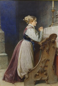 a tyrolese bride by carl haag