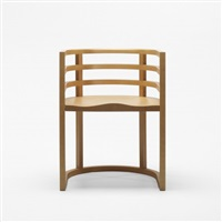pre-production armchair by richard meier