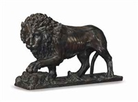 figure of a lion by flaminio vacca