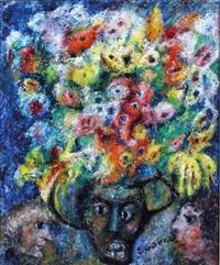 le bouquet au pot noir by édouard joseph goerg