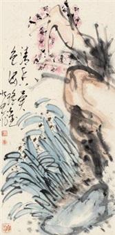 梅花 镜心 纸本 by ji youchen