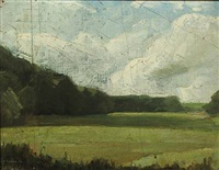 landscape by albert gottschalk