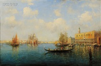 view of the grand canal by nicholas briganti