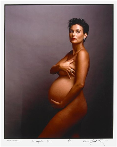 demi moore los angeles by annie leibovitz