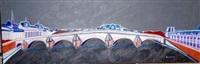 le pont royal (from les ponts de paris) by anne aknin