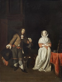 the hunter's gift by gabriel metsu