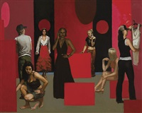study for red shop by tom alberts