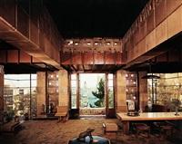 frank lloyd wright house by julius shulman