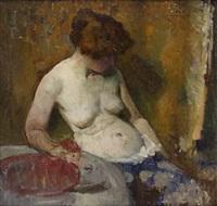 nude study by hugh henry breckenridge
