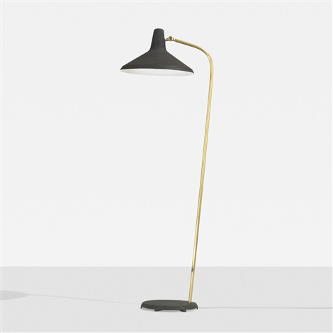 rare floor lamp by greta magnusson grossman
