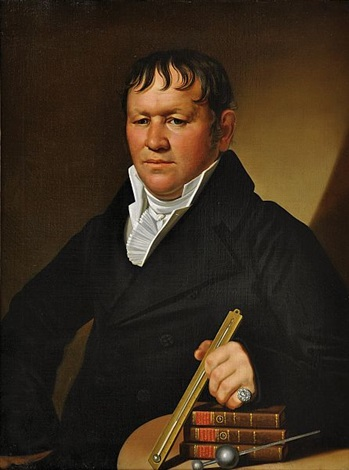 portrait of a brewer by antonín machek