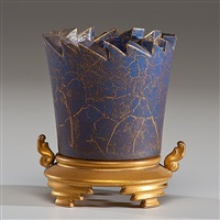 cup with base by adrian saxe