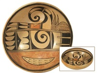 hopi bowl by rena leslie