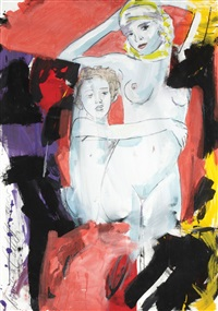 nus féminins by luciano castelli