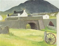 achill island landscape by barbara warren