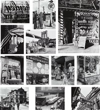 new york portfolio iii (12 works) by berenice abbott