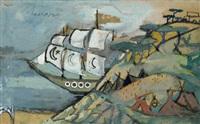 il veliero (per il turco in italia) by mino maccari