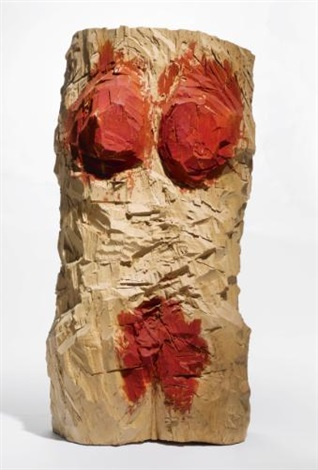 torso rosa no x 93 by georg baselitz