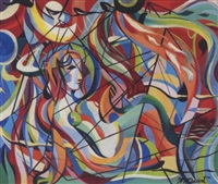 reclining nude by walter quirt